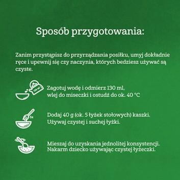 GERBER ORGANIC Kaszka mleczna pszenno-owsiana bananowa, po 6. miesiącu - 240 g - obrazek 5 - Apteka internetowa Melissa