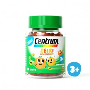 CENTRUM Żelki o smaku pomarańczowym - 30 szt. - obrazek 1 - Apteka internetowa Melissa