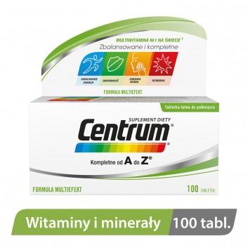 CENTRUM A-Z Multiefekt - 100 tabl. - obrazek 1 - Apteka internetowa Melissa