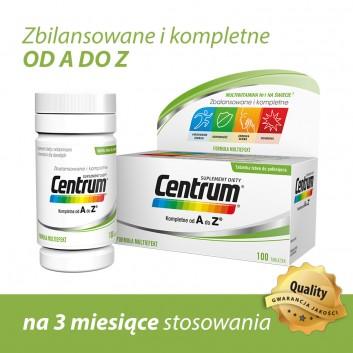 CENTRUM A-Z Multiefekt - 100 tabl. - obrazek 3 - Apteka internetowa Melissa
