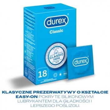DUREX CLASSIC Prezerwatywy - 18 szt. - cena, opinie, właściwości - obrazek 4 - Apteka internetowa Melissa