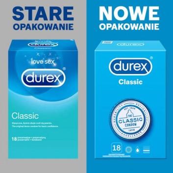 DUREX CLASSIC Prezerwatywy - 18 szt. - cena, opinie, właściwości - obrazek 3 - Apteka internetowa Melissa