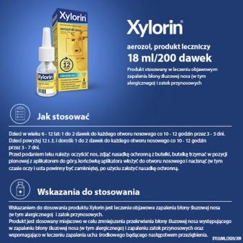 XYLORIN 0,55 mg w 1ml areozol - 18 ml  - obrazek 4 - Apteka internetowa Melissa