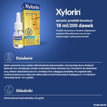 XYLORIN 0,55 mg w 1ml areozol - 18 ml  - obrazek 5 - Apteka internetowa Melissa