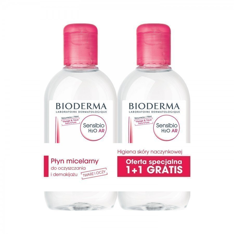 Bioderma Sensibio AR H2O Duopack Płyn micelarny - Apteka internetowa Melissa