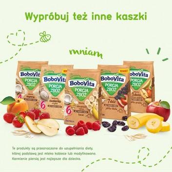 BOBOVITA PORCJA ZBÓŻ Kaszka mleczna owsiana 3 zboża, jabłko, po 6 miesiącu - 210 g - cena, właściwości, opinie  - obrazek 5 - Apteka internetowa Melissa
