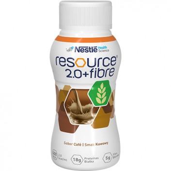 RESOURCE 2.0+FIBRE Smak kawowy - 4 x 200 ml - obrazek 2 - Apteka internetowa Melissa