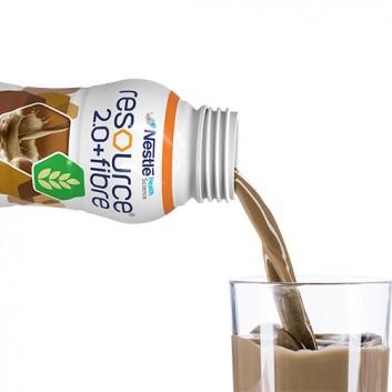 RESOURCE 2.0+FIBRE Smak kawowy - 4 x 200 ml - obrazek 3 - Apteka internetowa Melissa