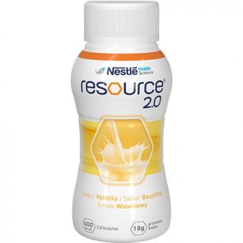 RESOURCE 2.0 Smak waniliowy - 4 x 200 ml - obrazek 2 - Apteka internetowa Melissa
