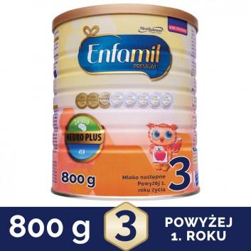 Enfamil 3 Premium - 800 g - obrazek 1 - Apteka internetowa Melissa