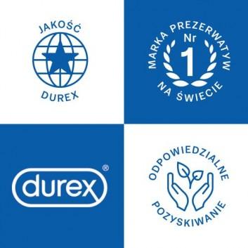 DUREX PLEASUREMAX Prezerwatywy prążkowane z wypustkami - 12 szt. - obrazek 5 - Apteka internetowa Melissa