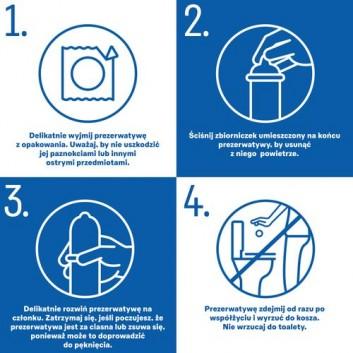 DUREX PLEASUREMAX Prezerwatywy prążkowane z wypustkami - 12 szt. - obrazek 6 - Apteka internetowa Melissa