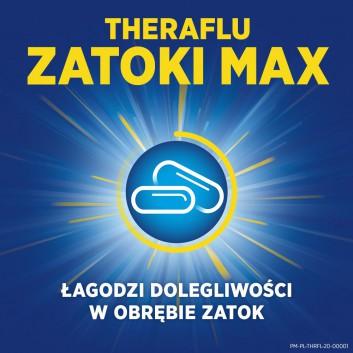 THERAFLU ZATOKI MAX - 18 tabl. - zwalcza objawy grypy i przeziębienia Data ważności 2021.06.30 - obrazek 4 - Apteka internetowa Melissa