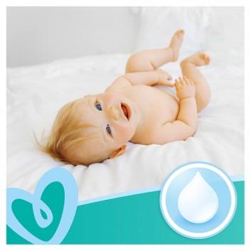 PAMPERS Fresh Clean Chusteczki nawilżane dla niemowląt - 6 op., 480 szt. - cena, opinie, właściwości - obrazek 5 - Apteka internetowa Melissa