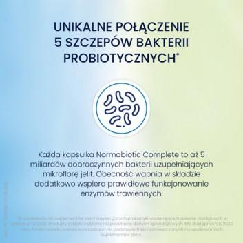 Normabiotic Complete - 10 kaps. Na uzupełnienie mikroflory jelitowej i poprawę trawienia  - cena, opinie, dawkowanie - obrazek 4 - Apteka internetowa Melissa