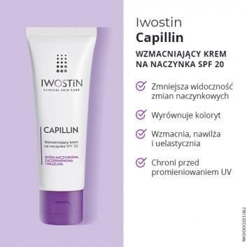 IWOSTIN CAPILLIN Krem na naczynka SPF20 lekka konsystencja - 40 ml - obrazek 3 - Apteka internetowa Melissa