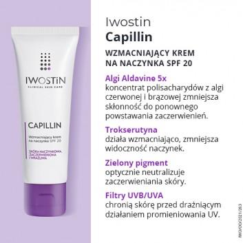 IWOSTIN CAPILLIN Krem na naczynka SPF20 lekka konsystencja - 40 ml - obrazek 4 - Apteka internetowa Melissa