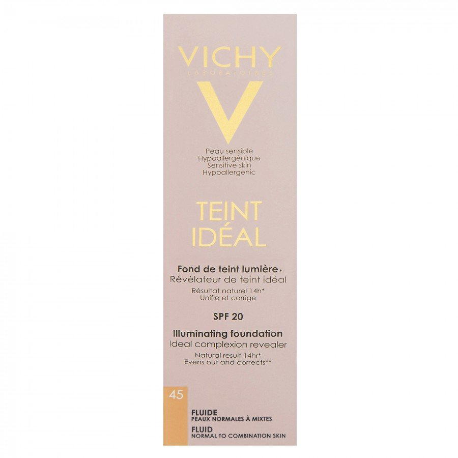 VICHY TEINT IDEAL FLUID 45 HONEY Podkład we fluidzie - 30 ml - Apteka internetowa Melissa