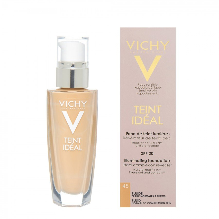 vichy teint ideal fluid 45 honey podk ad we fluidzie 30. Black Bedroom Furniture Sets. Home Design Ideas