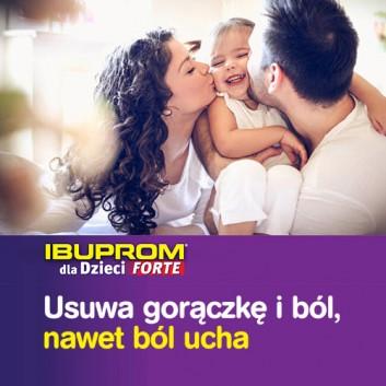 Ibuprom dla Dzieci Forte 200 mg/5 ml Zawiesina doustna - 150 ml - cena, opinie, ulotka - obrazek 5 - Apteka internetowa Melissa