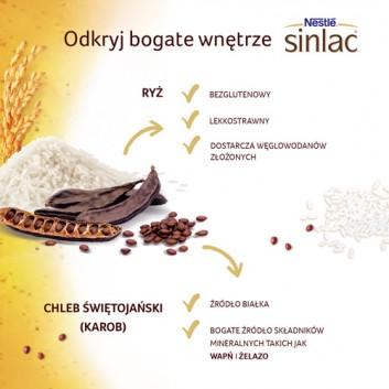 NESTLE SINLAC Bezglutenowy produkt zbożowy po 4 miesiącu - 500 g - cena, opinie, wskazania  - obrazek 3 - Apteka internetowa Melissa