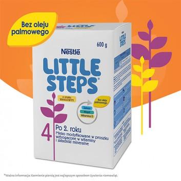 Nestle LITTLE STEPS 4 Mleko modyfikowane dla dzieci po 2 roku życia o smaku waniliowym - 600 g - cena, opinie, stosowanie - obrazek 2 - Apteka internetowa Melissa
