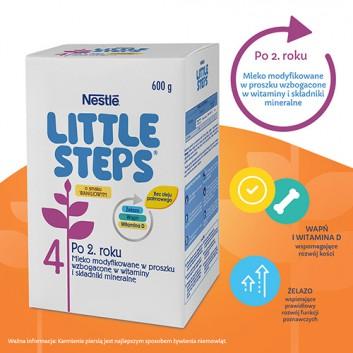 Nestle LITTLE STEPS 4 Mleko modyfikowane dla dzieci po 2 roku życia o smaku waniliowym - 600 g - cena, opinie, stosowanie - obrazek 3 - Apteka internetowa Melissa