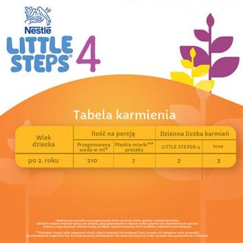 Nestle LITTLE STEPS 4 Mleko modyfikowane dla dzieci po 2 roku życia o smaku waniliowym - 600 g - cena, opinie, stosowanie - obrazek 5 - Apteka internetowa Melissa