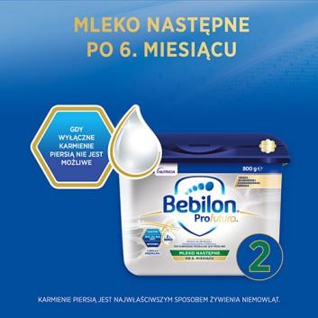 BEBILON 2 PROFUTURA Mleko modyfikowane w proszku - 800 g - cena, opinie, właściwości  - obrazek 2 - Apteka internetowa Melissa