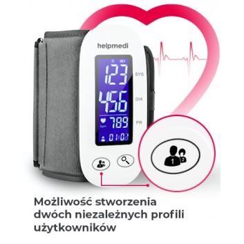 Ciśnieniomierz elektroniczny WBP202 -  Pressiocheck - 1 szt. - cena, opinie, specyfikacja - obrazek 5 - Apteka internetowa Melissa