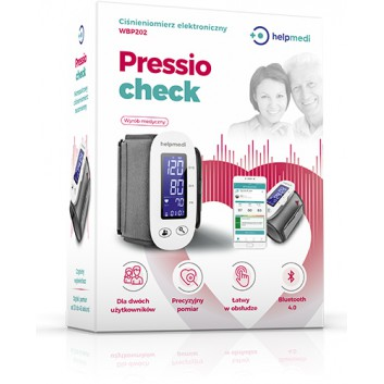 Ciśnieniomierz elektroniczny WBP202 -  Pressiocheck - 1 szt. - cena, opinie, specyfikacja - obrazek 1 - Apteka internetowa Melissa
