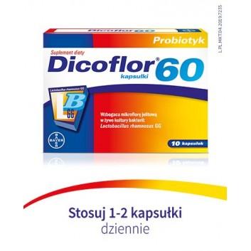 Dicoflor 60 - 20 kapsułek - obrazek 8 - Apteka internetowa Melissa