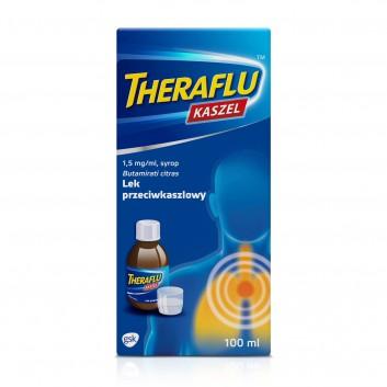 THERAFLU KASZEL 0,15% Syrop na suchy kaszel - 100 ml - obrazek 2 - Apteka internetowa Melissa