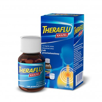 THERAFLU KASZEL 0,15% Syrop na suchy kaszel - 100 ml - obrazek 3 - Apteka internetowa Melissa