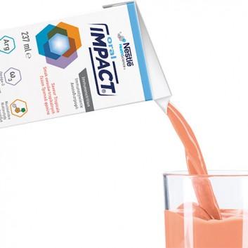 NESTLE IMPACT ORAL Smak owoców tropikalnych - 3x237 ml - preparat odżywczy w płynie - cena, opinie, wskazania - obrazek 3 - Apteka internetowa Melissa