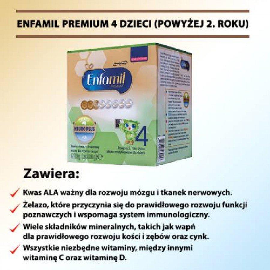 Enfamil 4 Premium - 1200 g - obrazek 2 - Apteka internetowa Melissa