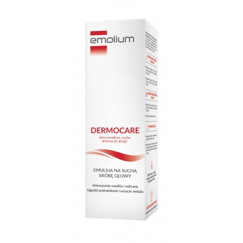 Emolium Emulsja na suchą skórę głowy - 100 ml - obrazek 1 - Apteka internetowa Melissa