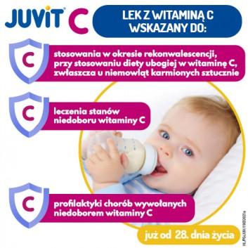 JUVIT C - 40 ml - cena, opinie, właściwości - obrazek 3 - Apteka internetowa Melissa