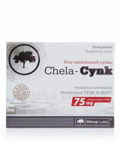 OLIMP CHELA CYNK 75 mg - 30 kaps.