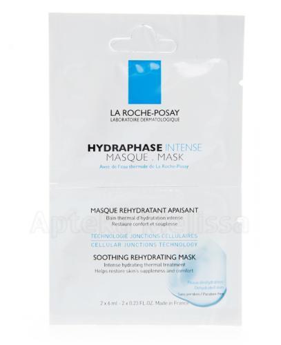 LA ROCHE-POSAY HYDRAPHASE INTENSE MASQUE Maseczka - 2 x 6 ml - Apteka internetowa Melissa