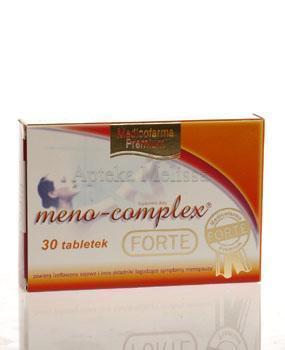 MENO- COMPLEX FORTE - 30 tabl.  - Apteka internetowa Melissa