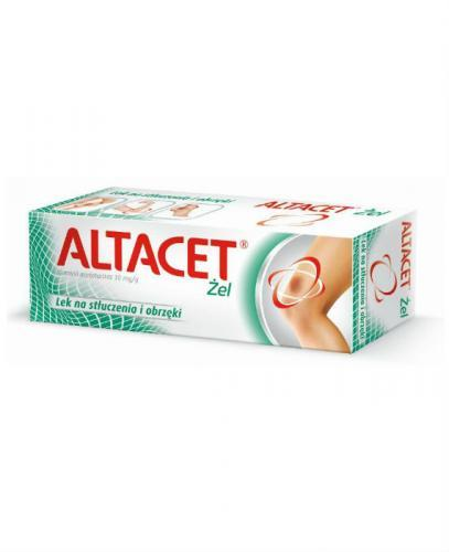 ALTACET Żel - 75 g żel przeciwobrzękowy - opinie, stosowanie, ulotka - Apteka internetowa Melissa