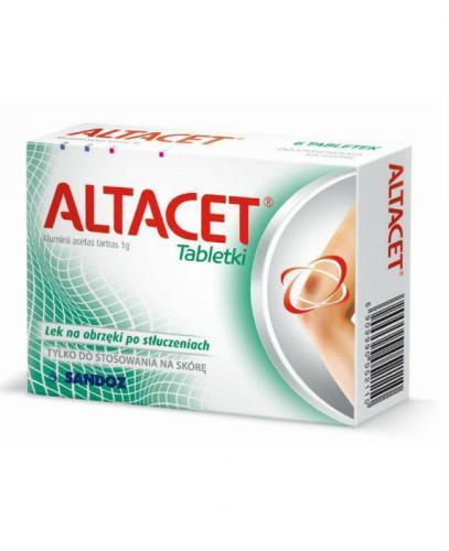 ALTACET 1 g - 6 tabl. - Apteka internetowa Melissa