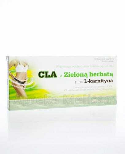 OLIMP CLA z Zieloną herbatą plus L-Karnityna - 60 kaps.