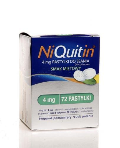 NIQUITIN 4 mg - 72 past. - Apteka internetowa Melissa