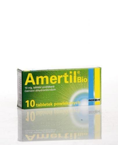 AMERTIL BIO 10 mg  - 10 tabl.