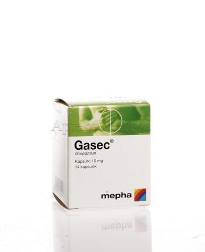 GASEC 10 mg - 14 kaps. - Apteka internetowa Melissa