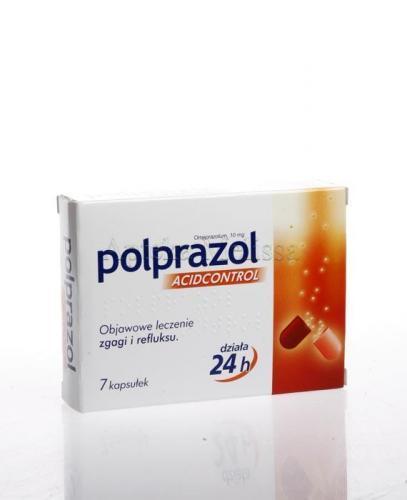 POLPRAZOL ACIDCONTROL - 7 kaps. - Apteka internetowa Melissa