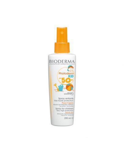 BIODERMA PHOTODERM KID Spray dla dzieci SPF50+ - 200 ml  - Drogeria Melissa
