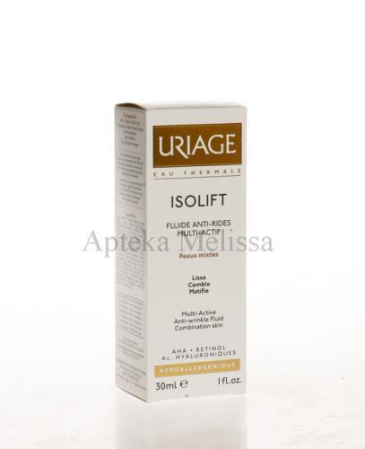 URIAGE ISOLIFT Krem fluid przeciwzmarszczkowy po 30 roku życia do skóry mieszanej - 30 ml  - Apteka internetowa Melissa